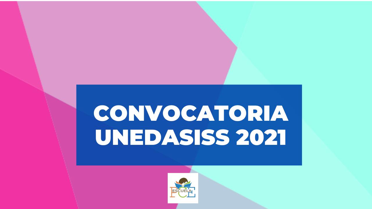 Convocatoria 2021 PCE UNEDASISS